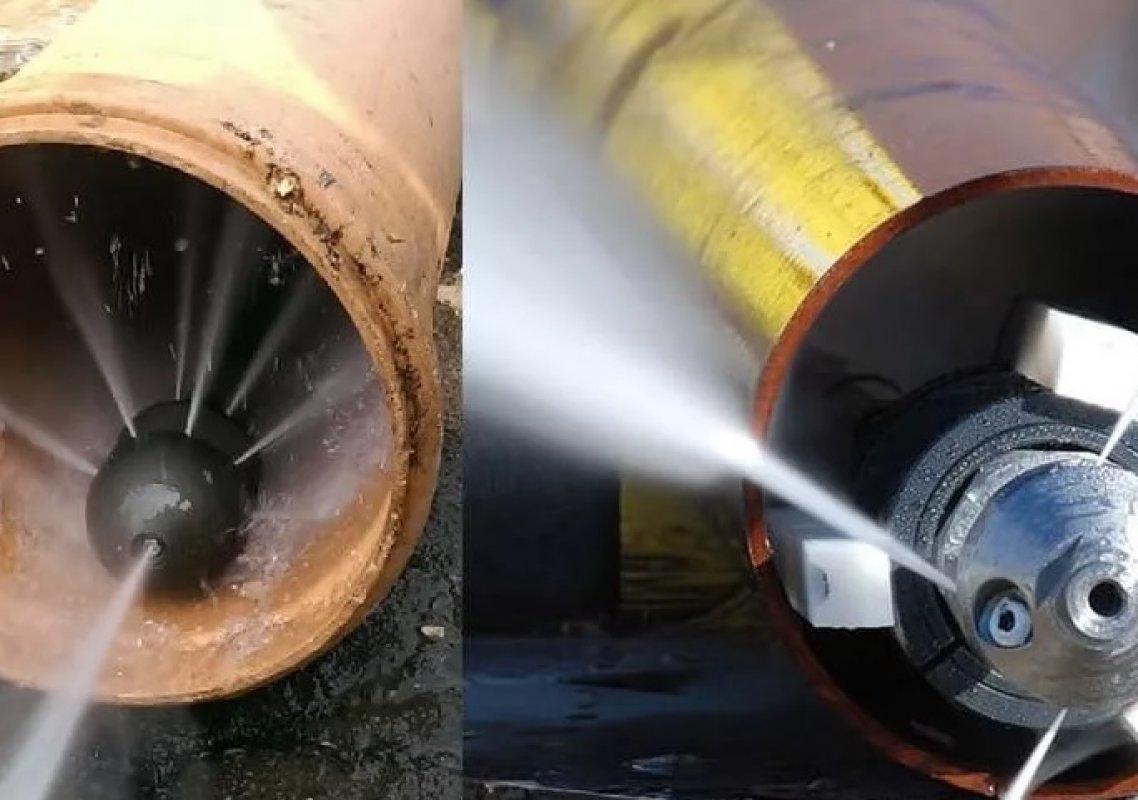 Гидродинамическая прочистка труб