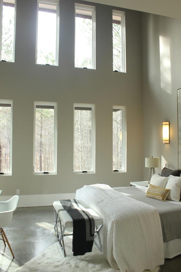 Стильные белые металлопластиковые окна