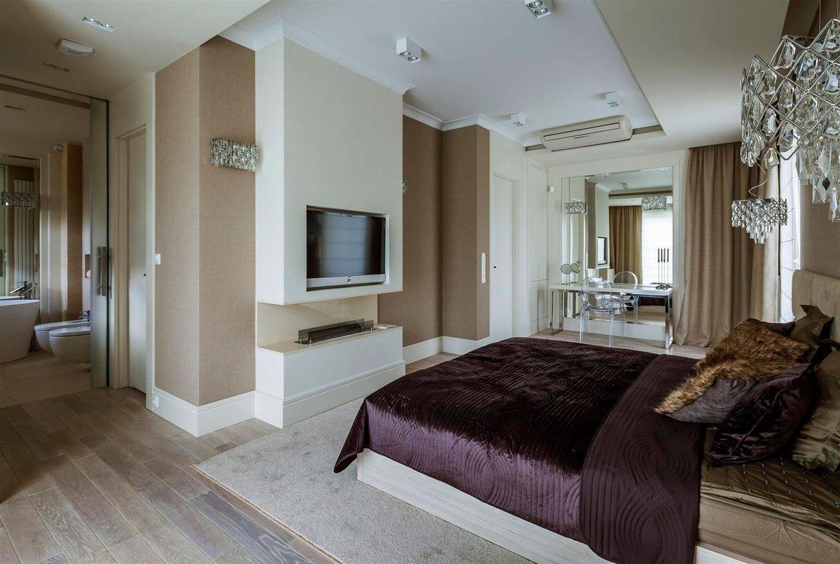 Мягкие спокойные оттенки для спальни