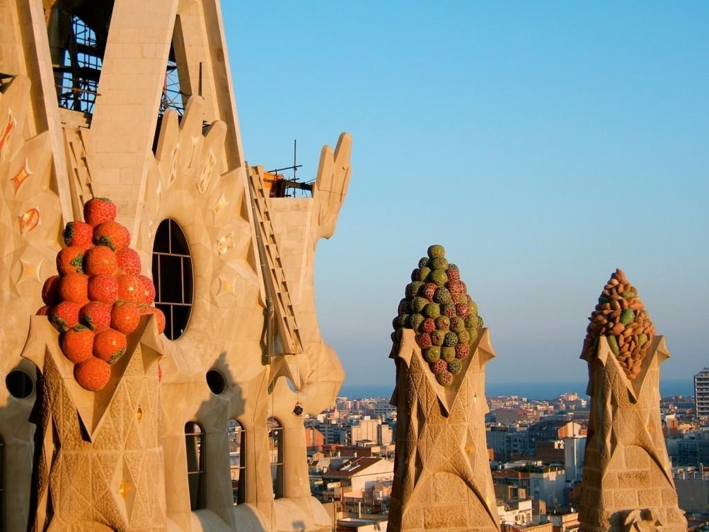 Декоративные навершия башенок