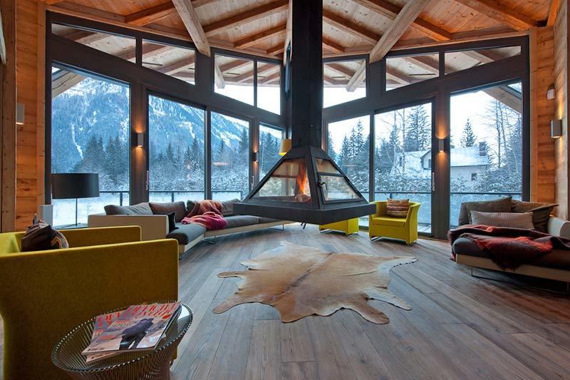 Уютная гостиная для разнообразного отдыха