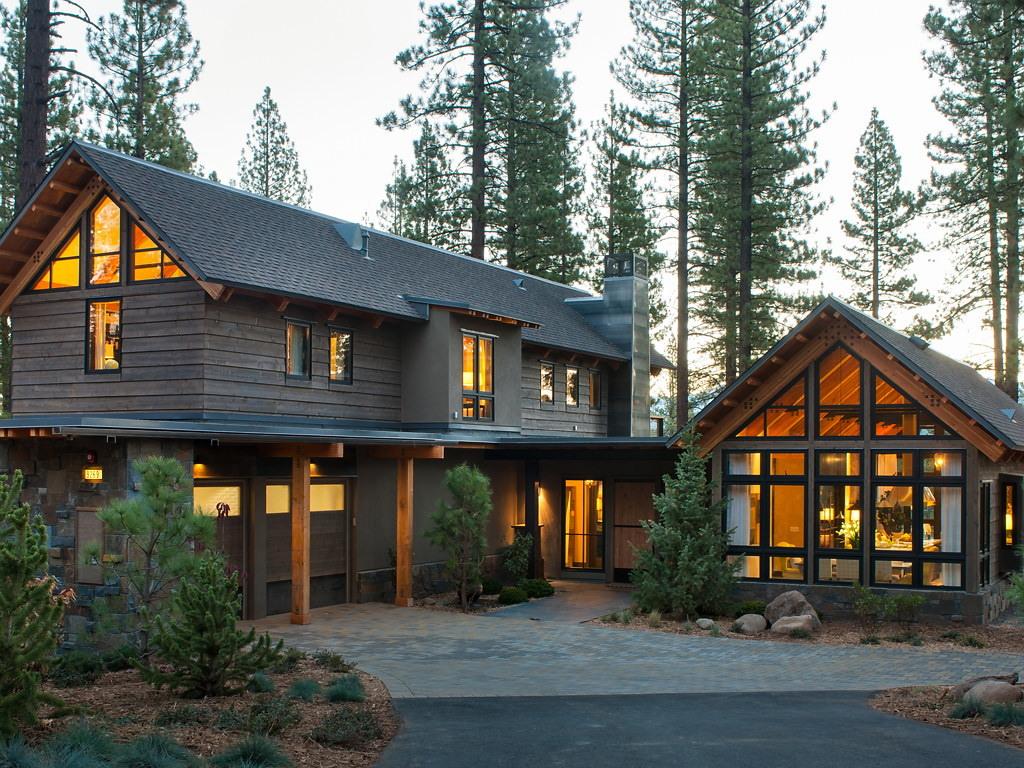 Загородный дом в горах