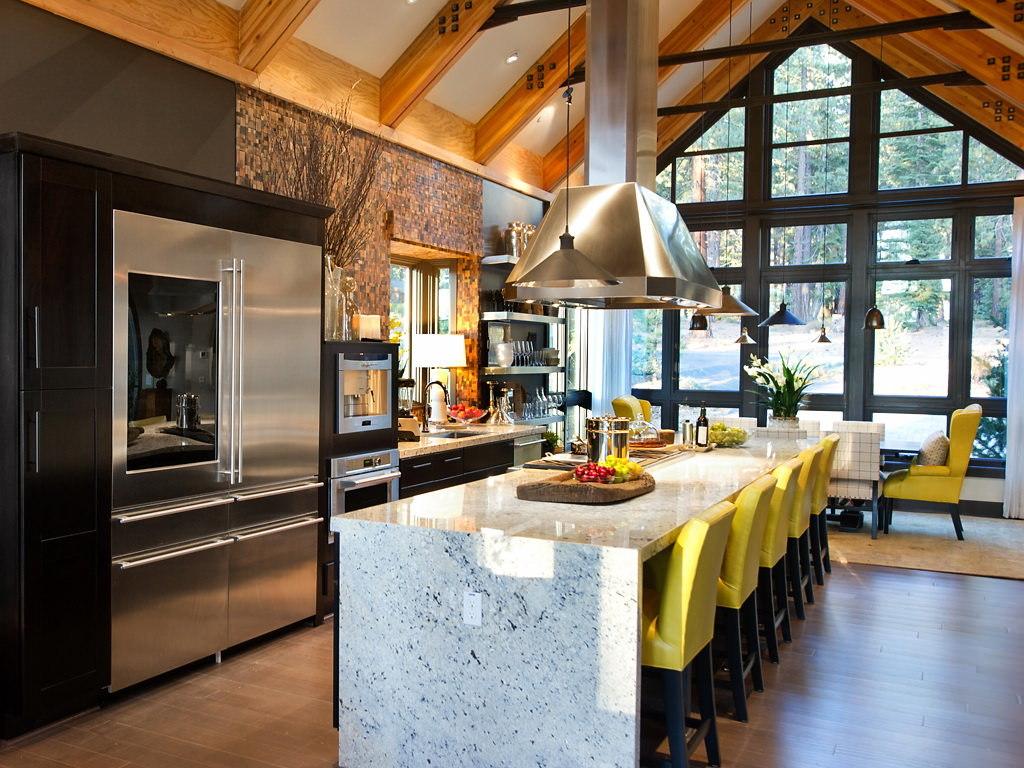 Идеальная кухня дома мечты располагается в отдельном крыле