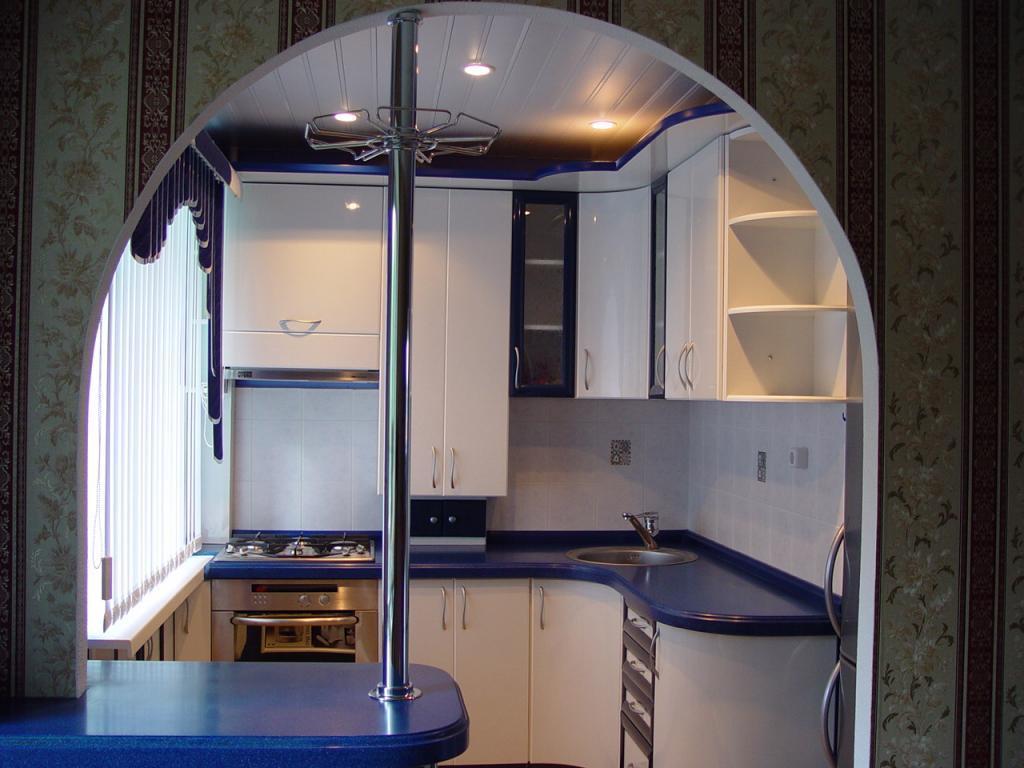 Расширение помещения кухни за счет сноса или переноса стен