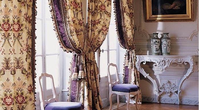 Кисти и тесьма для стиля барокко