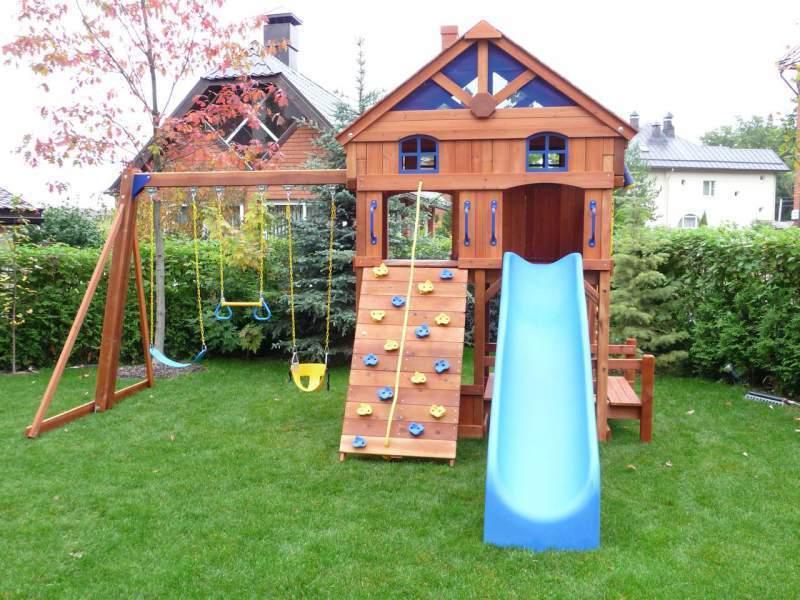 Оградите игровую площадку живой изгородью