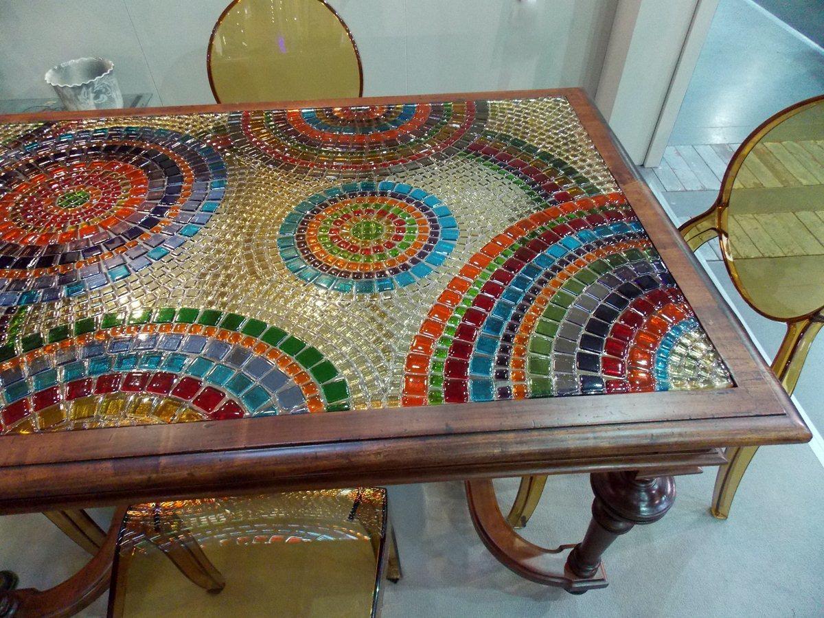 Украсьте мозаикой столешницу