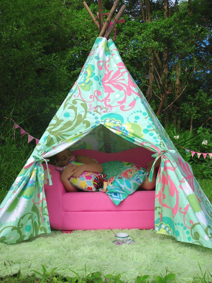Лоскутная палаточка для детей