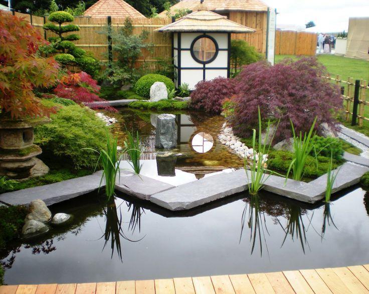 "Вода - ""кровь"" сада. Водопад, ручей, источник или пруд"