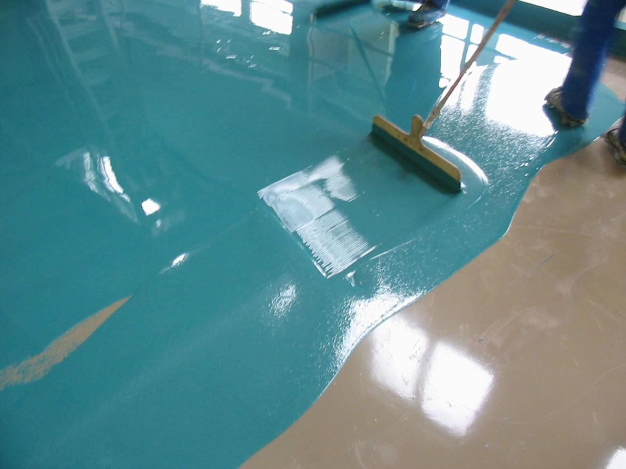 Монолитное бетонное основание без трещин и дефектов