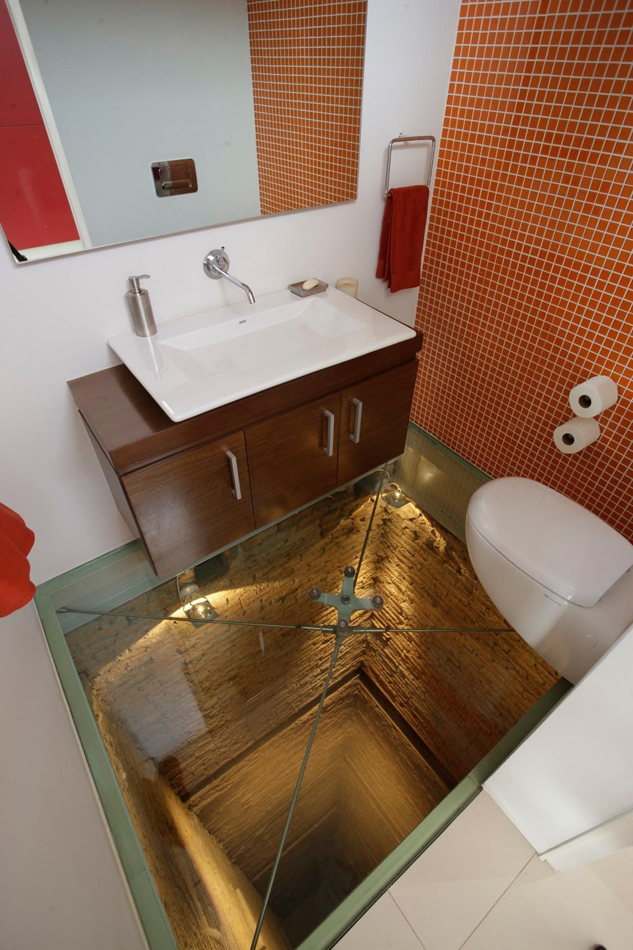 Туалет в пентхаусе, Мексика