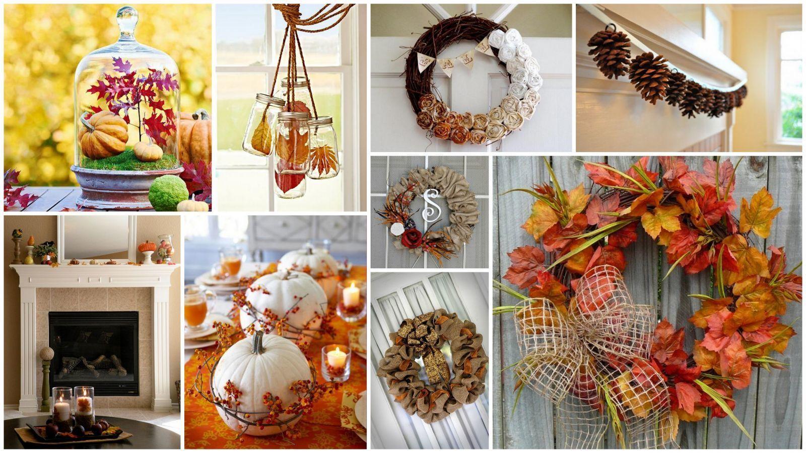 Идеи осеннего декора