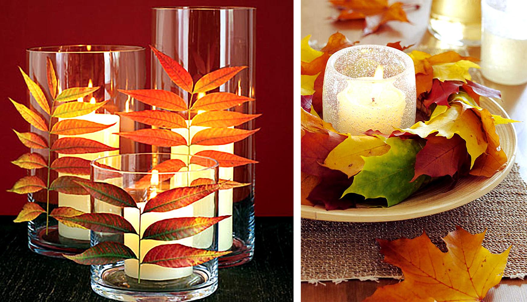 Декор свечей