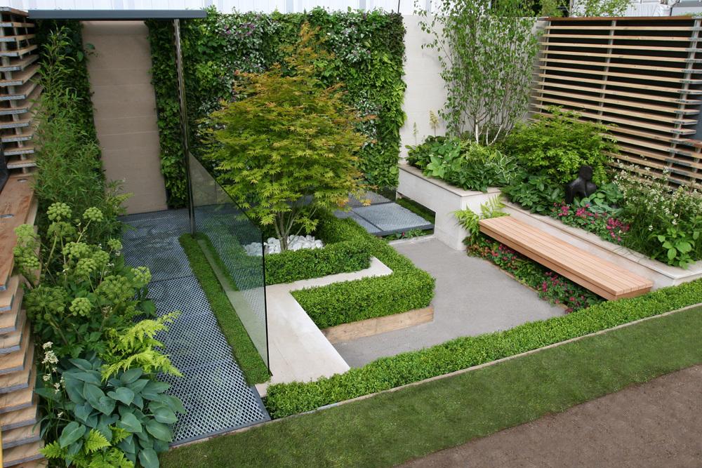 Проект маленького двора