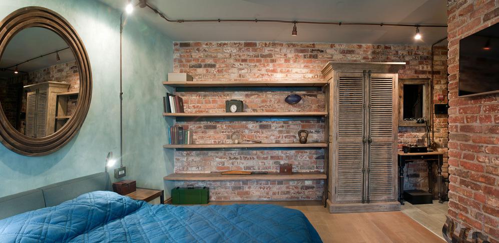Мебель для интерьера в стиле лофт2