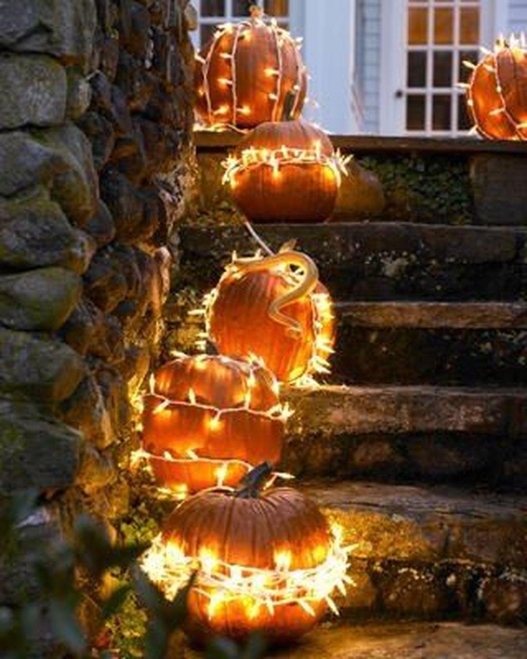 Хеллоуин. Декор из тыквы своими руками