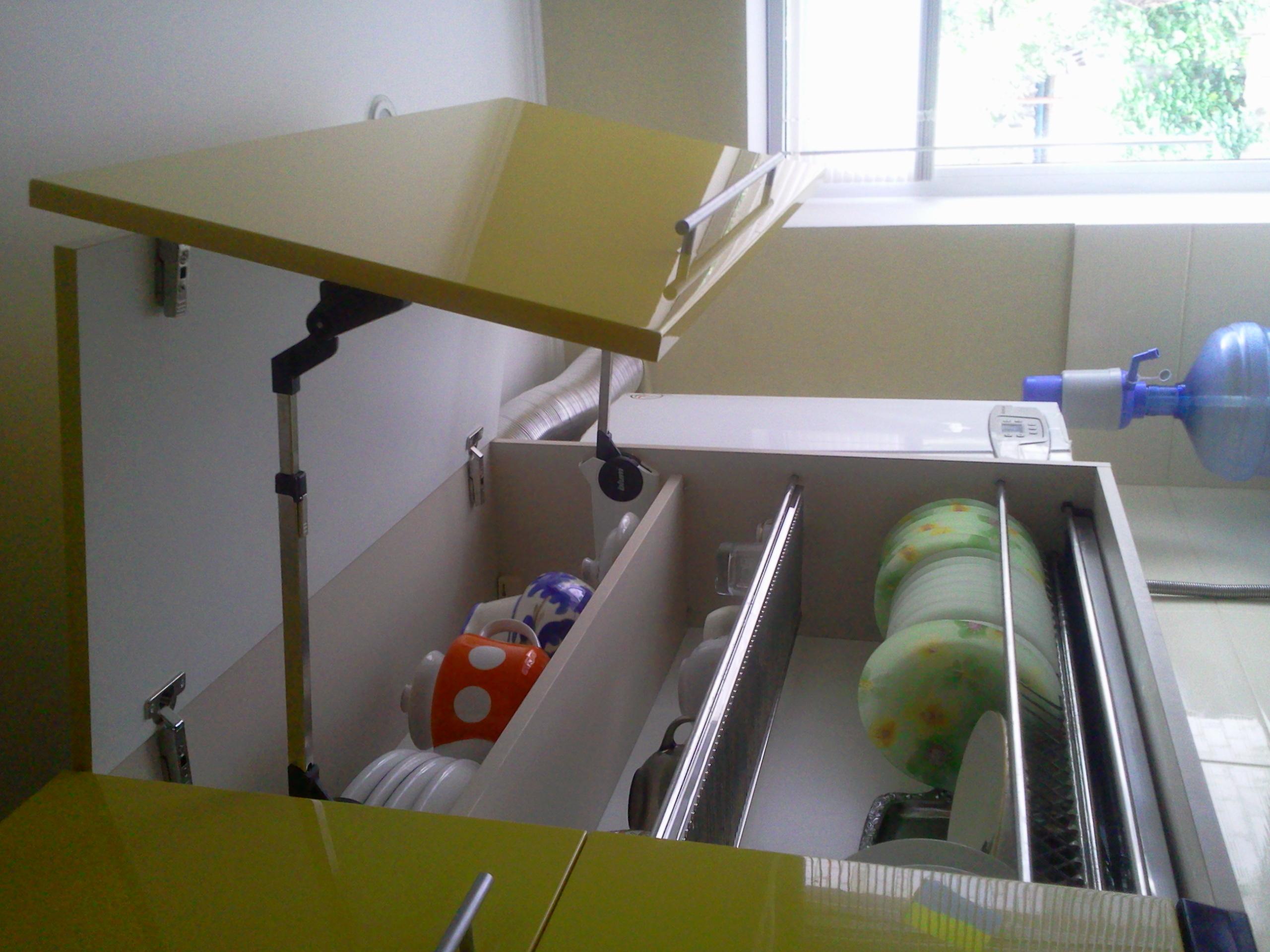 Кухонная фурнитура для навесных шкафов