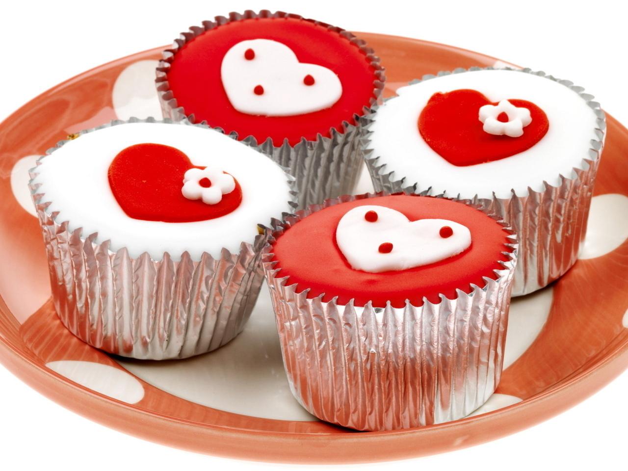 Чудные сладости ко дню Святого Валентина