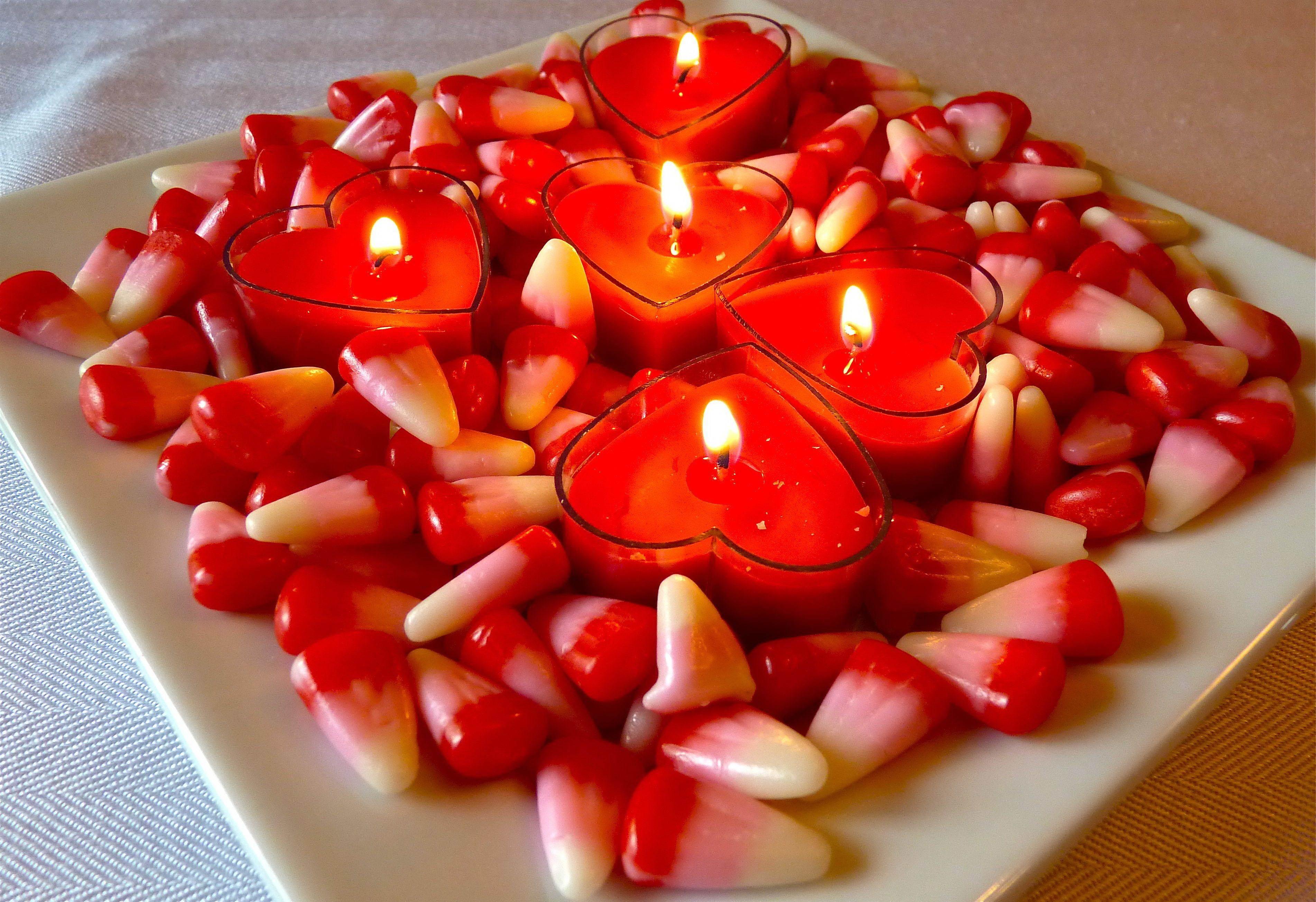 Ароматные свечи-прекрасно и романтично!