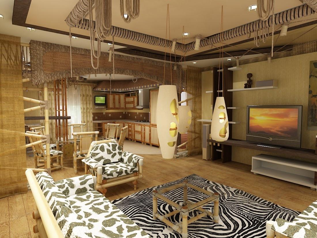 Отделка стен бумажными обоями, обоями из натуральных бамбуковых, соломенных, тростниковых волокон.