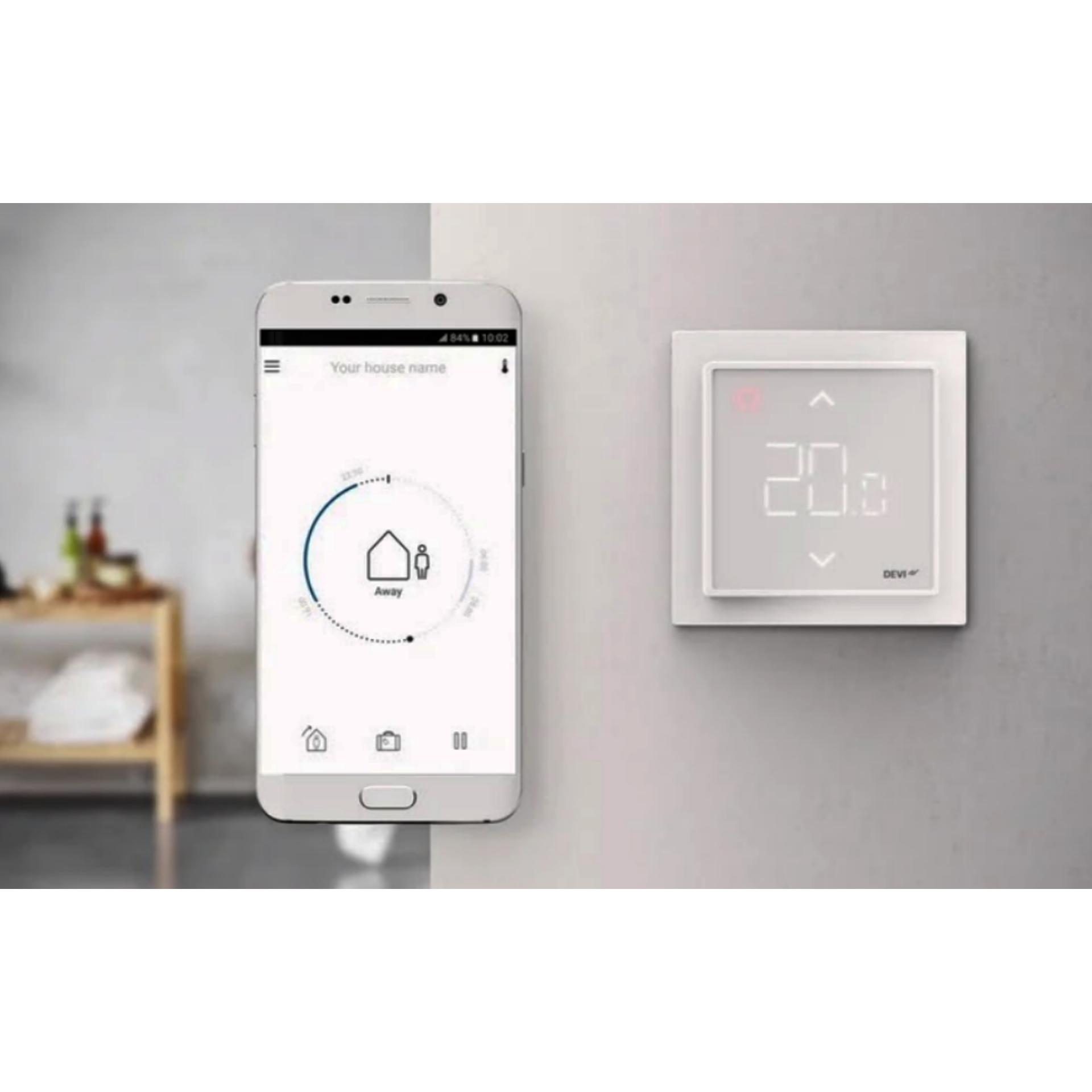 Терморегулятор для теплого пола с Wi-Fi