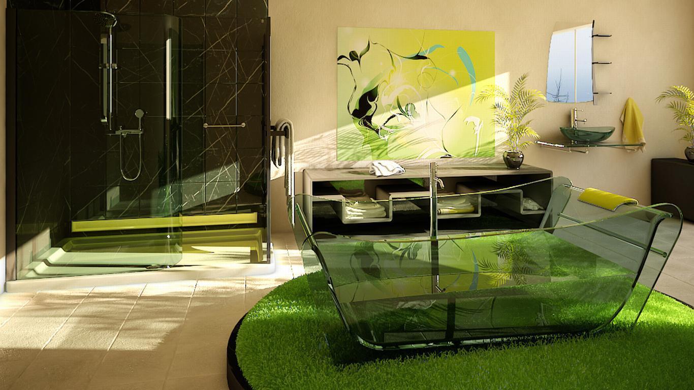 Дизайнерские решения позволят создать комфортабельные и уютные ванные комнаты.