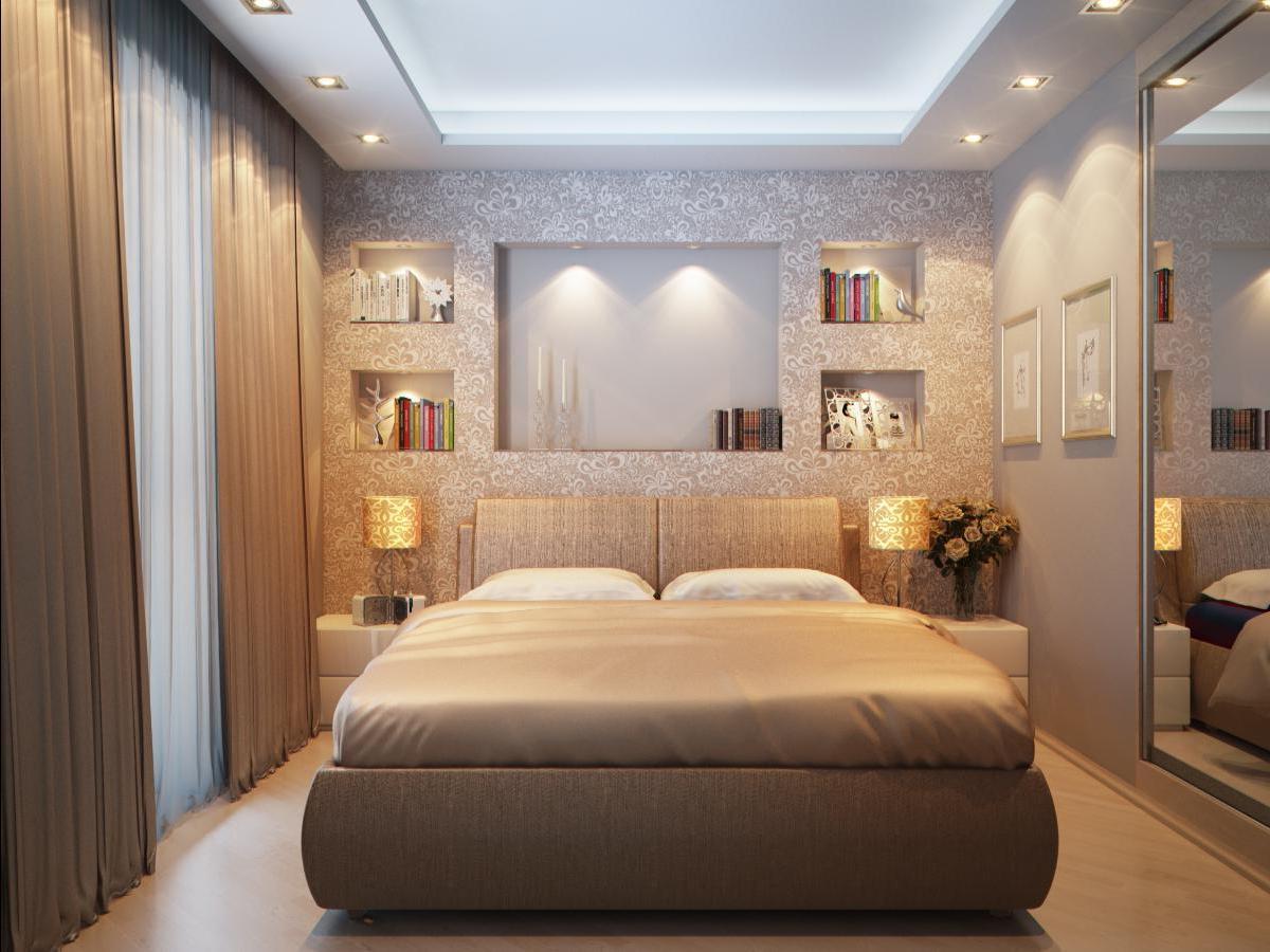 Маленькая площадь или неправильная форма комнаты могут стать неоспоримым преимуществом.