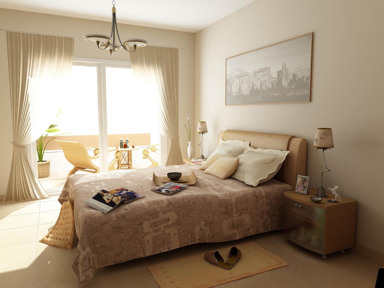 Для тех, кого не пугает глобальный ремонт, предлагаем присоединить несколько метров балкона к вашей спальной комнате.