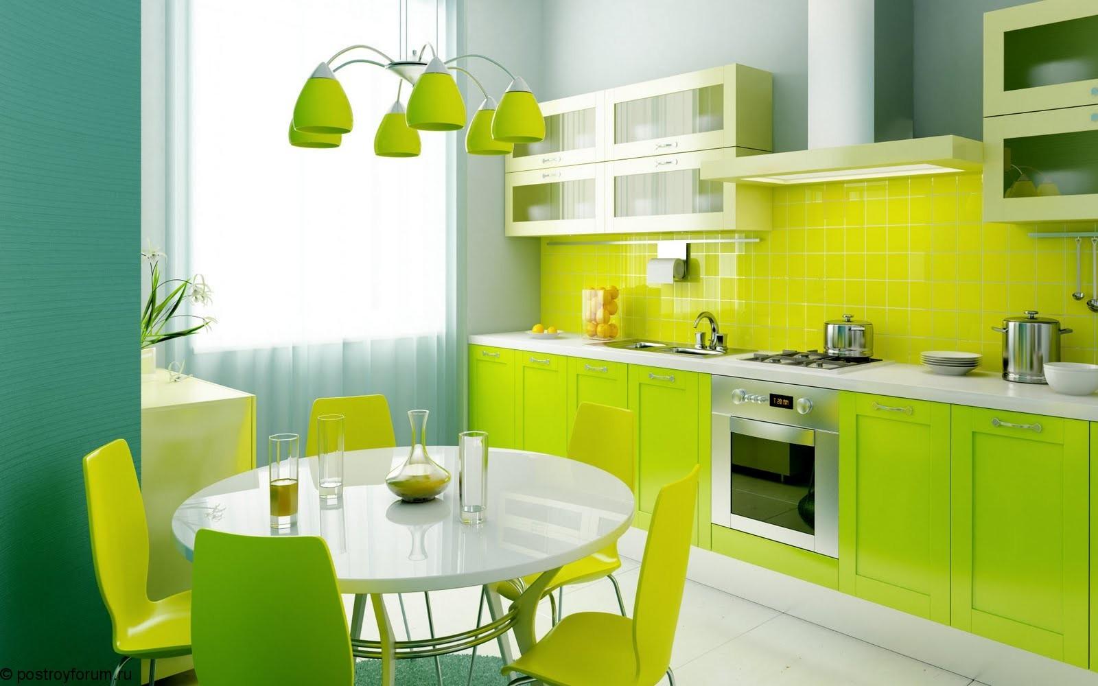 При однорядной планировке кухонная мебель и оборудование располагается линейно вдоль одной из стен кухни.