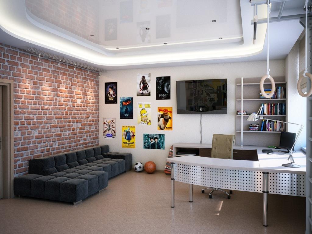 Где будут хранится футбольный мяч и сноубордическая доска, как разместить компьютерный стол и спальное место?