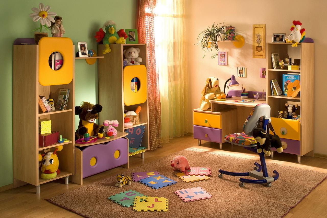 Цветовая гамма поможет создать яркий детский мир!