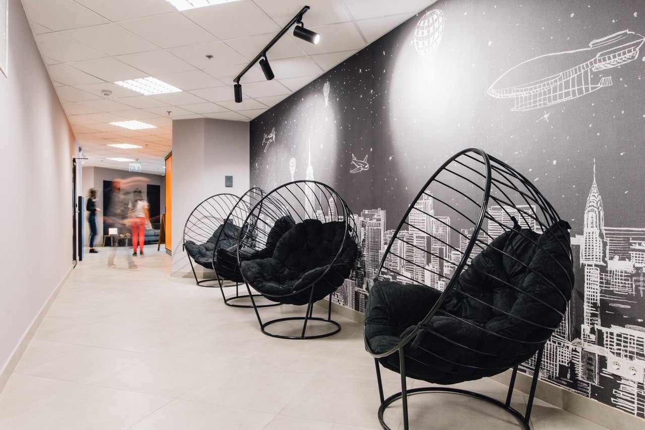 Кресло-шар о Art-Puf. Офис