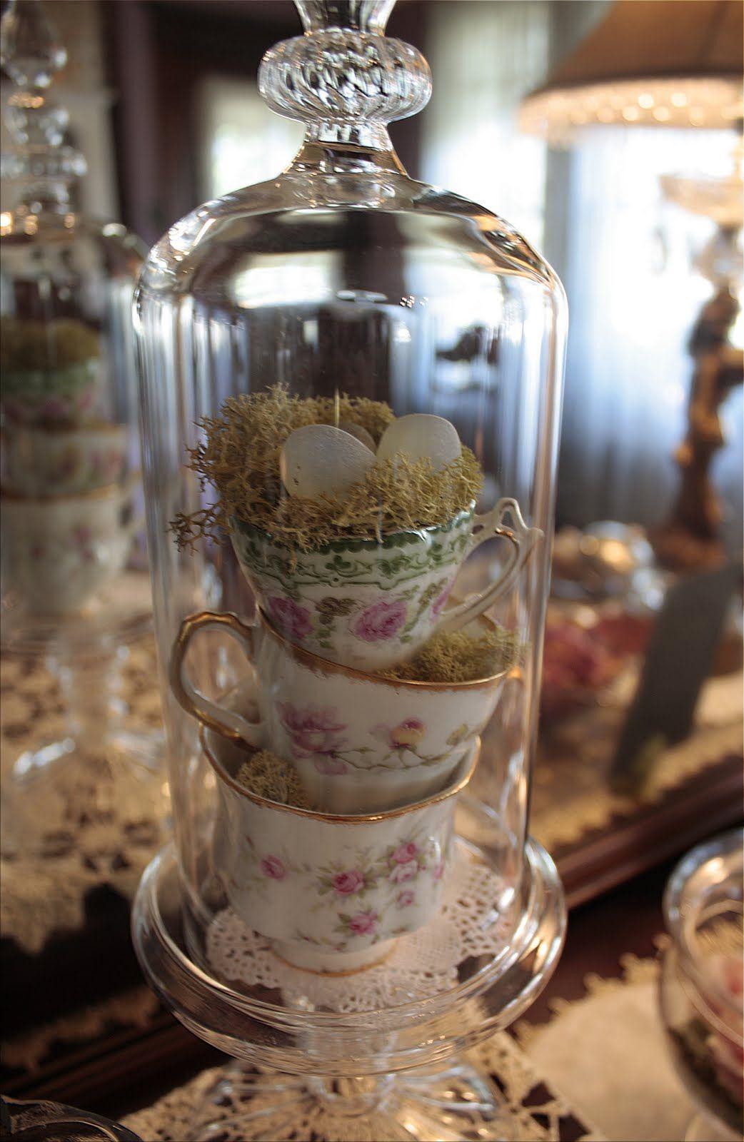 Стеклянные сосуды для пасхального декора