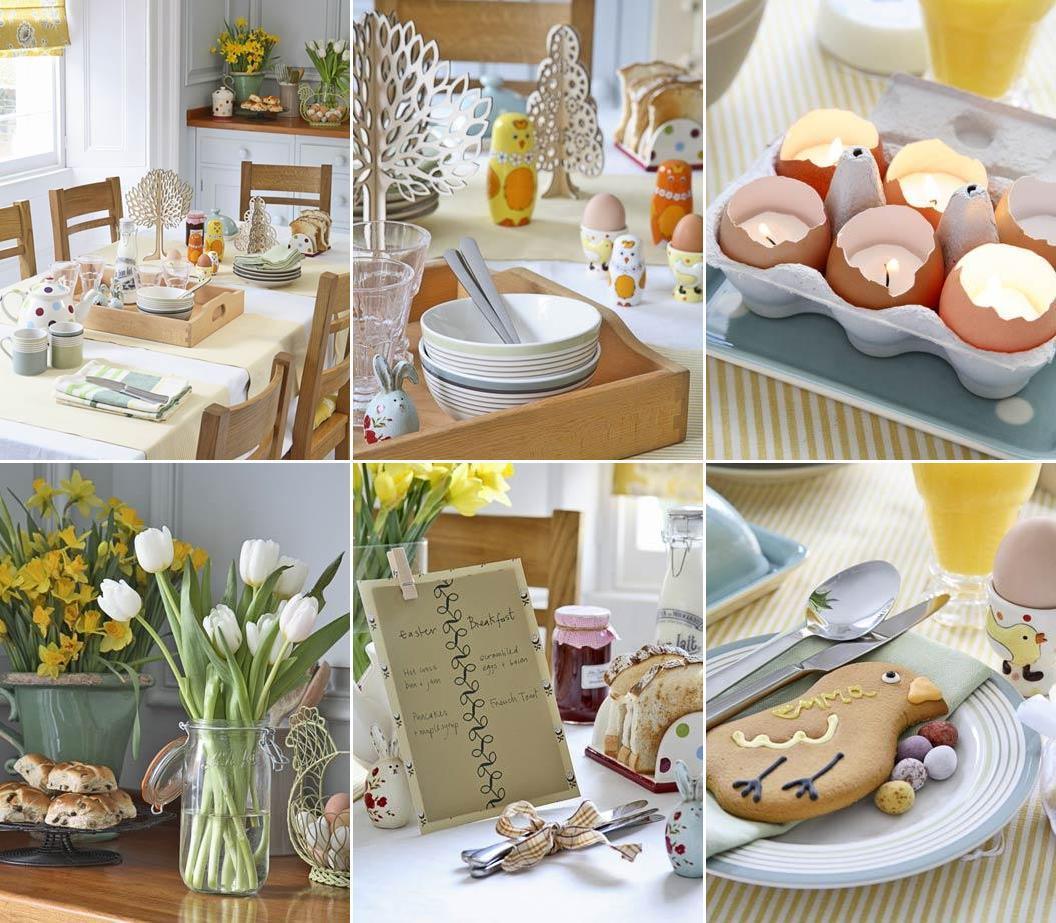 Добавьте несколько символов Пасхи к цветочным букетам, у вас получится чудесный пасхальный декор!