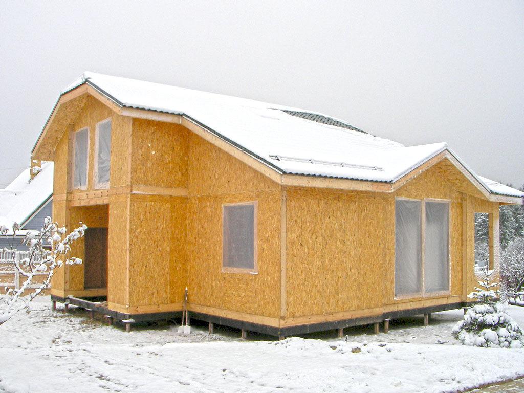 Преимущества постройки сауны из SIP-панелей