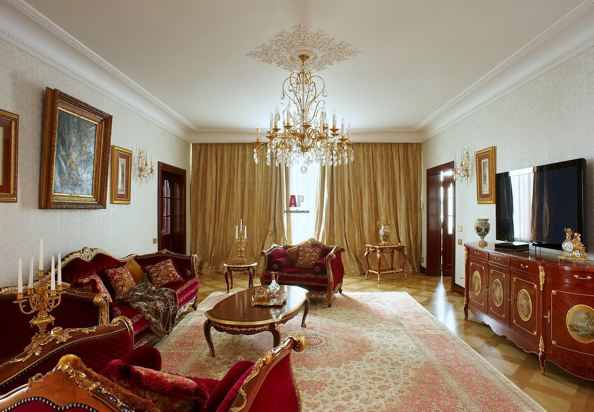 Цвет текстиля в шторах и мебельной оббивке должен гармонично сочетаться с цветовой гаммой отделки помещения и тоном мебели.