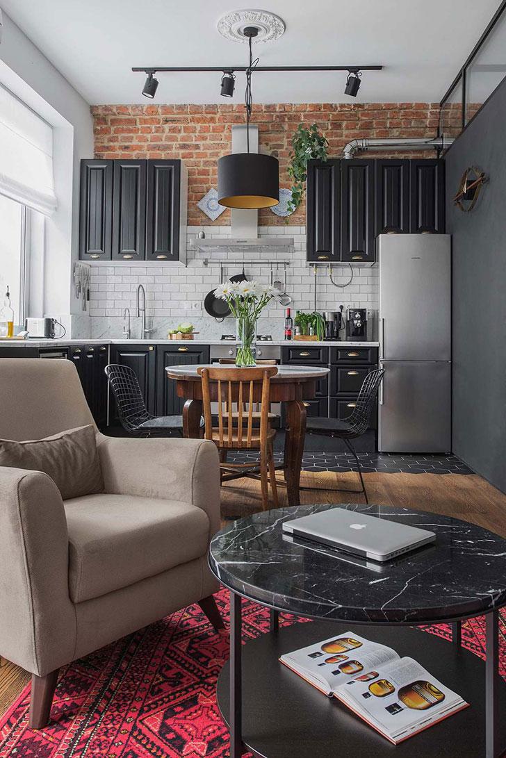 25 удивительных дизайнов кухонь