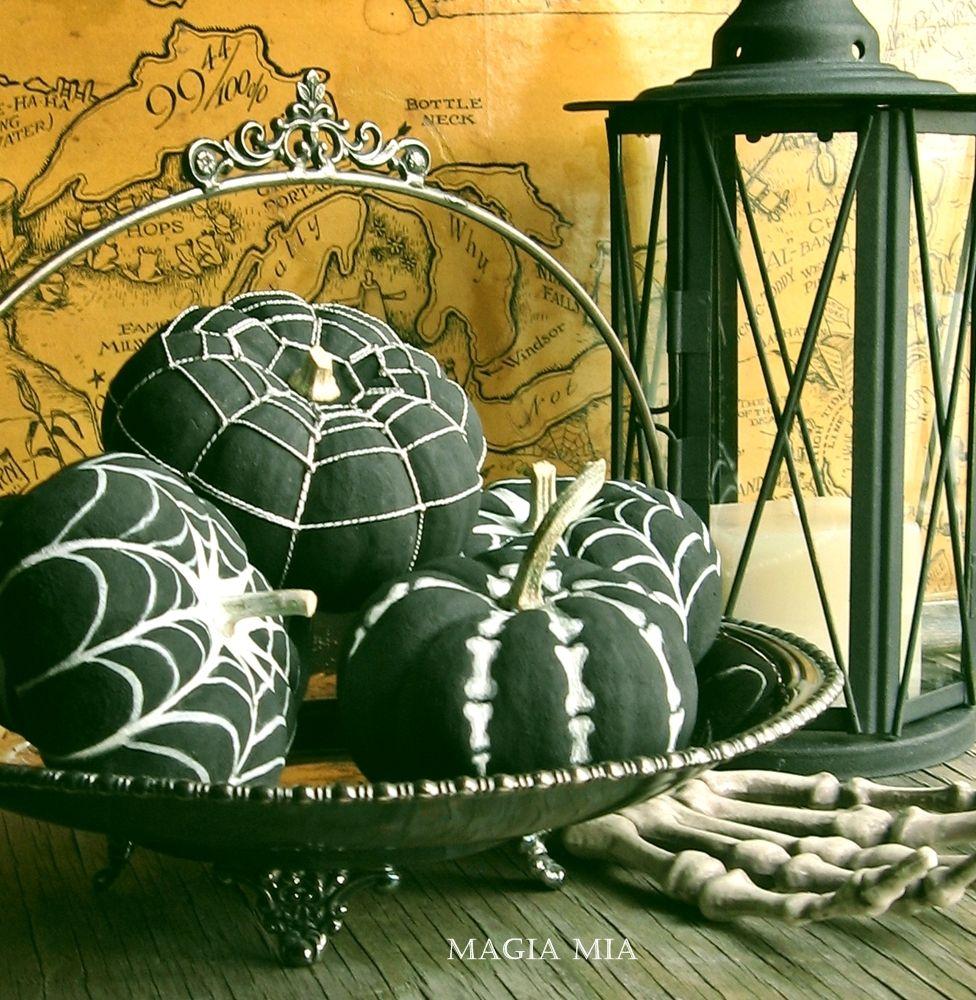 Декор из тыквы. Хеллоуин