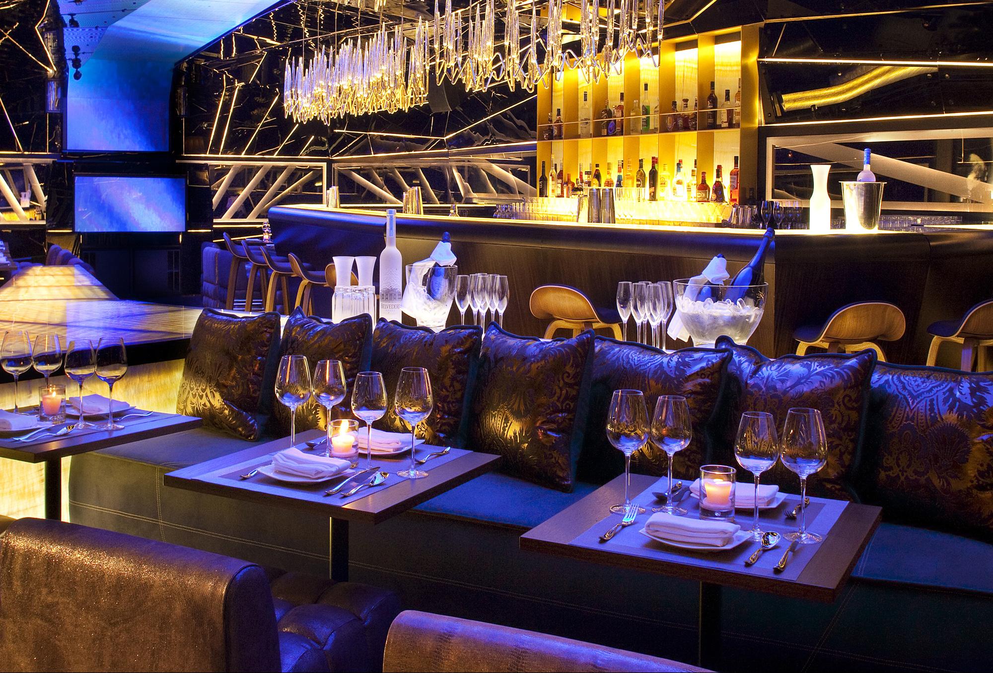 Интерьер ресторана Alegra в центре Дубая