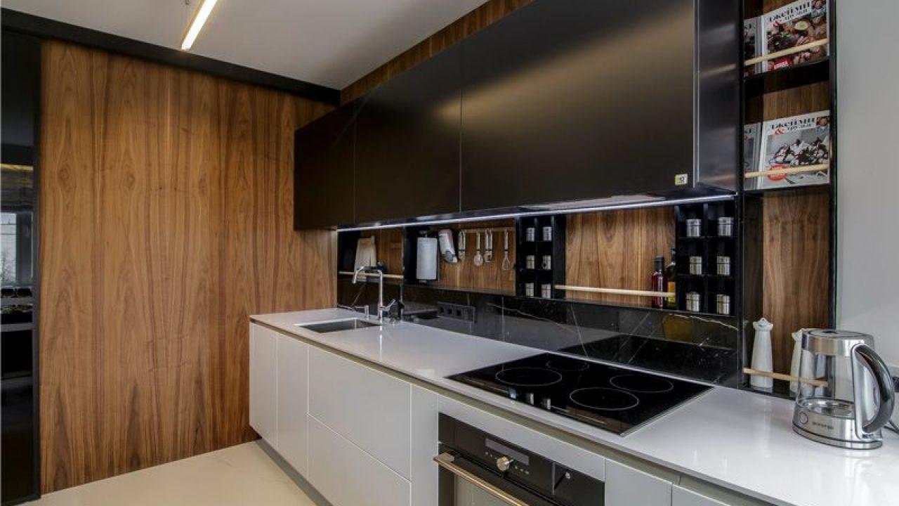Кухонный фартук из панелей МДФ