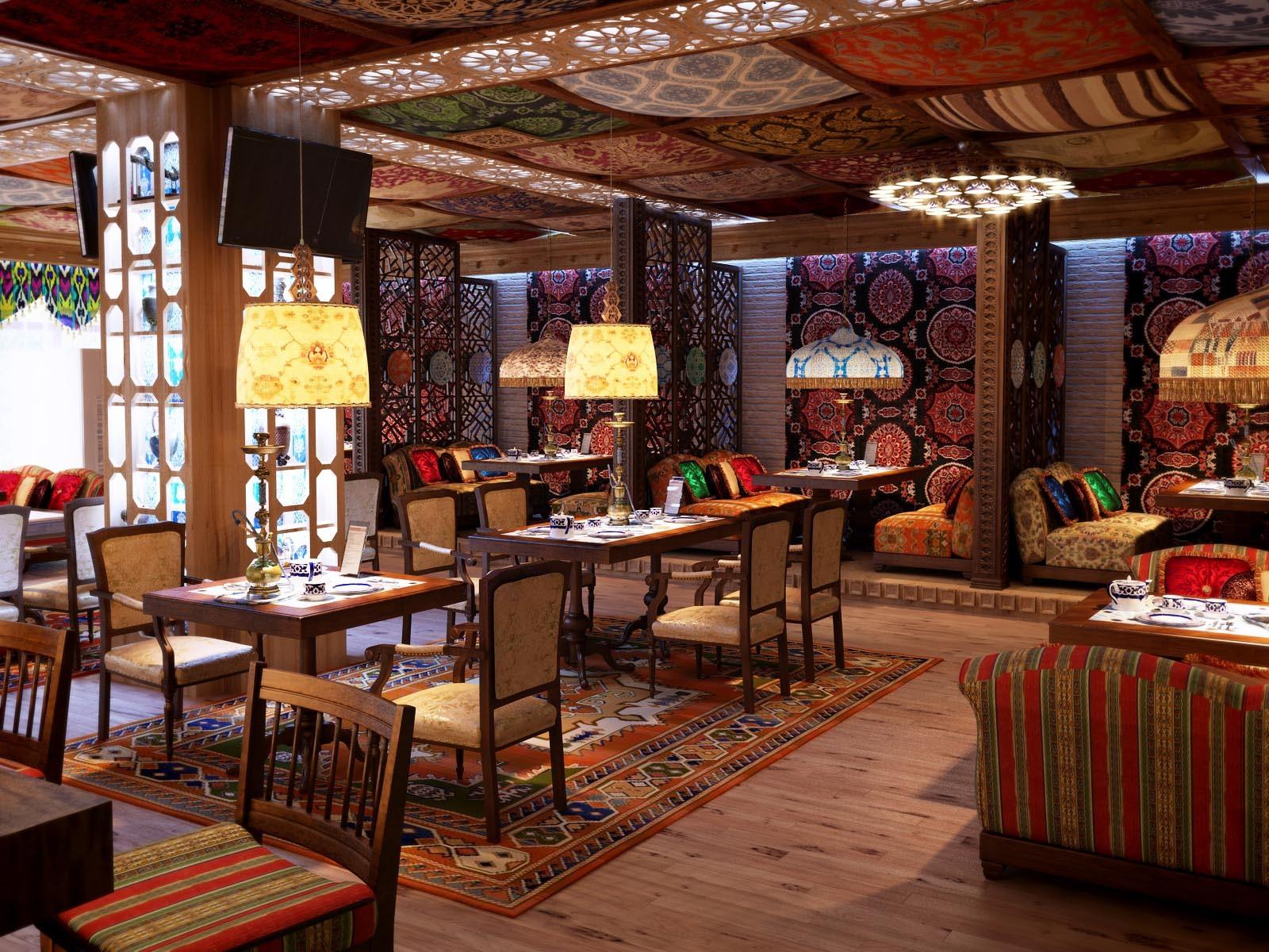 Ресторан «Сюзане» в Самарканде