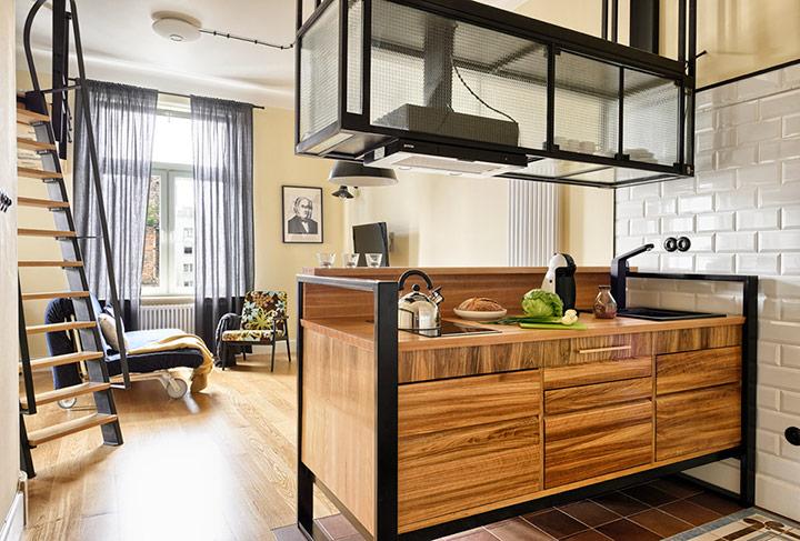 Мебель для интерьера в стиле лофт6