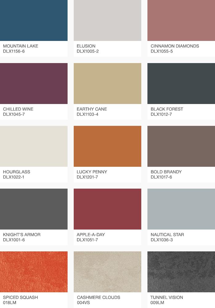 Цветовая палитра 2019 года