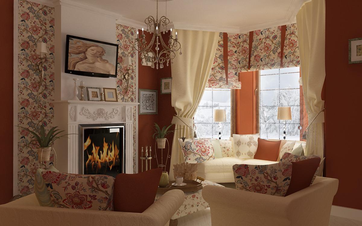 Не стоит экономить на текстиле, его качество и стиль сильно влияют на общий вид вашего роскошного дома.