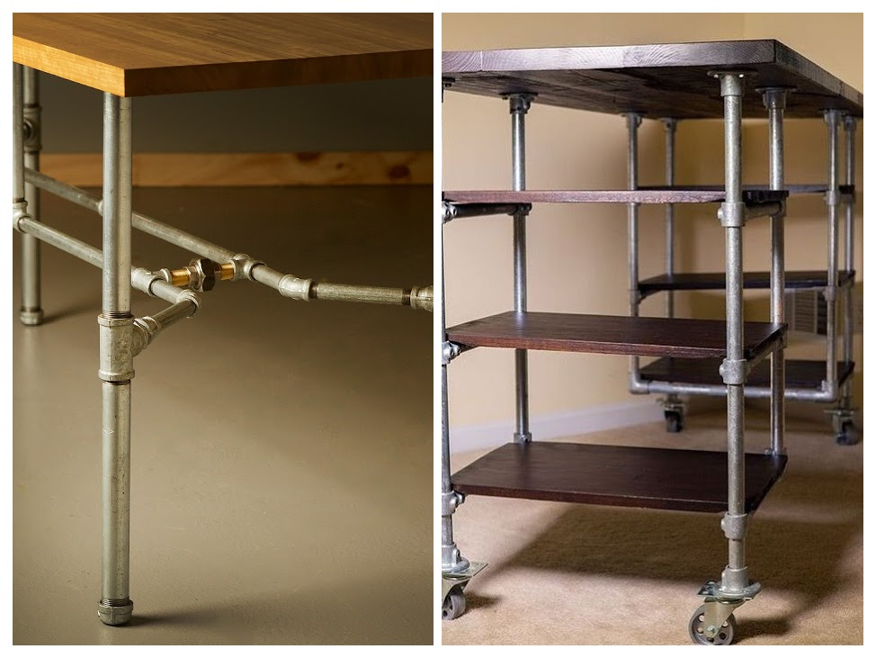 Столі, консоли, тележки для гостиной в стиле лофт