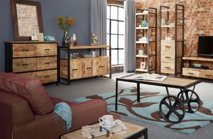 Мебель для интерьера в стиле лофт .