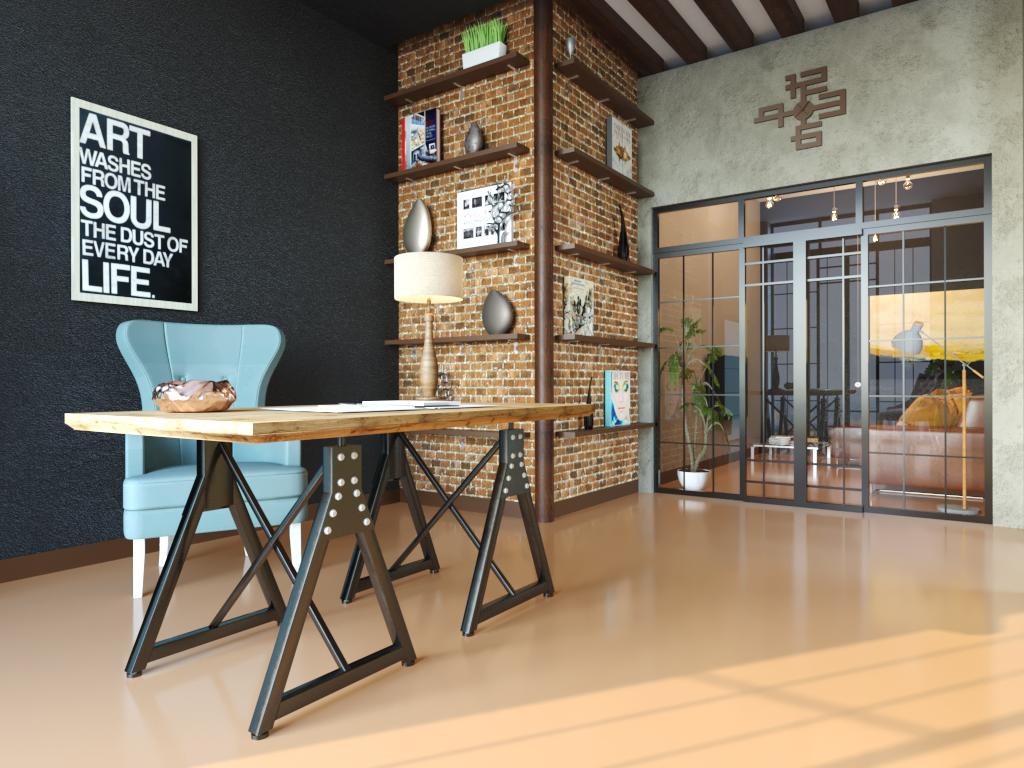 Мебель для интерьера в стиле лофт4