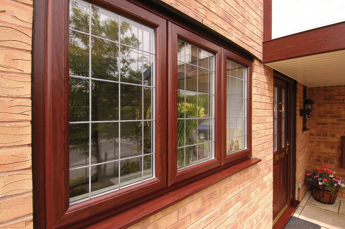 Цветные металлопластиковые окна с наружной ламинацией