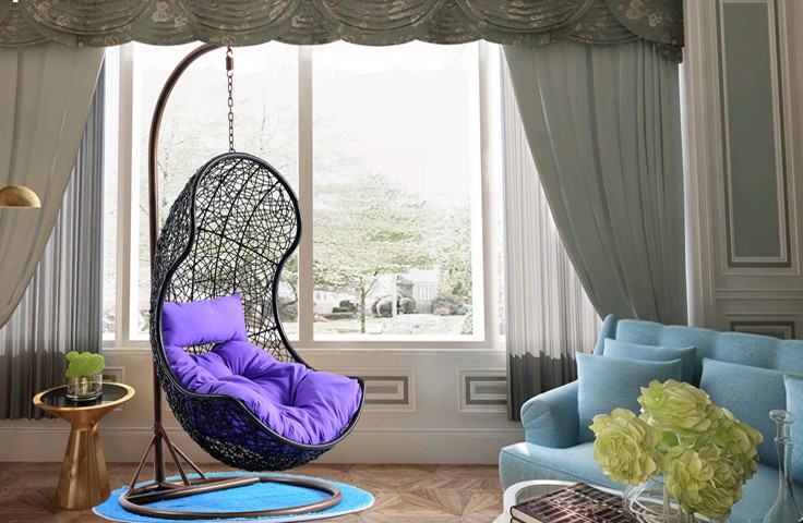 Подвесное кресло Хлоя от компании Арт-пуф
