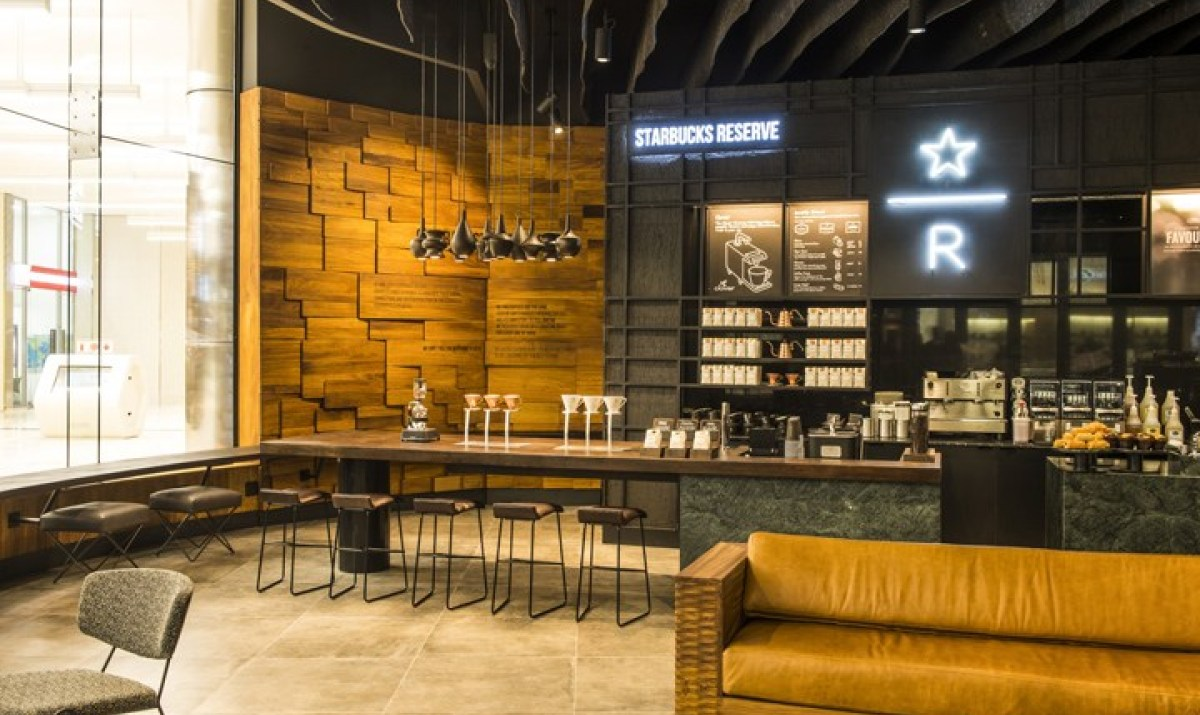 Дизайн нового кофейного магазина Starbucks